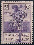 Spain 1929 Seville-Barcelona Exposition f