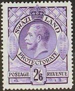Swaziland 1933 George V h