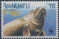 Vanuatu 1988 WWF Dugong b