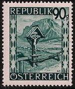 Austria 1946 Landscapes (II) o