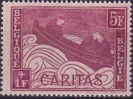 Belgium 1927 Anti Tuberculosis - Boat Adrift e