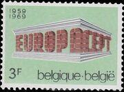 Belgium 1969 Europa a