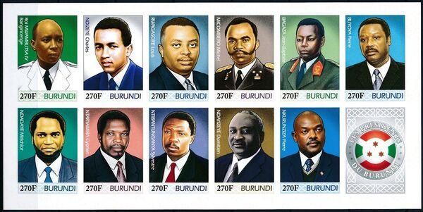 Burundi 2012 Presidents of Burundi p