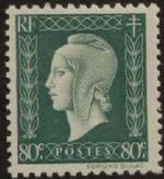 France 1945 Marianne de Dulac (2nd Issue) g