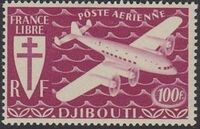French Somali Coast 1941 Airmail g