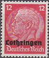 German Occupation-Lothringen 1940 Stamps of Germany (1933-1936) Overprinted in Black g.jpg