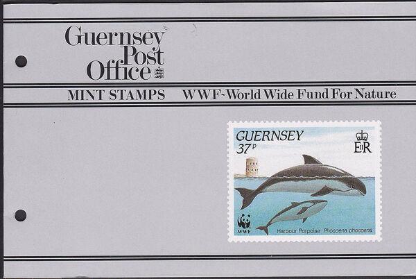 Guernsey 1990 WWF Marine Life w
