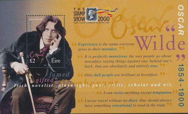 Ireland 2000 100th Anniversary of the Death of Oscar Wilde x