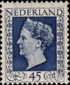Netherlands 1948 Queen Wilhelmina - Type Hartz f