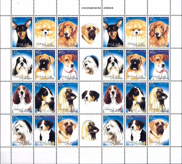 Netherlands Antilles 2004 Dogs Sa