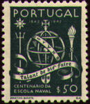 Portugal 1945 100th Anniversary of the Maritim School b