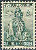 St Thomas and Prince 1934 Ceres - New Values f