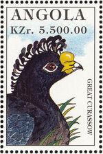 Angola 1996 Hunting Birds j
