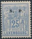 Luxembourg 1882 Industry and Commerce Overprinted i