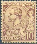 Monaco 1891 Prince Albert I d