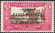 New Caledonia 1933 Definitives of 1928 Overprinted n