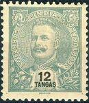 Portuguese India 1903 D. Carlos I - New Colours and Values l