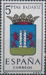 Spain 1962 Coat of Arms - 1st Group f