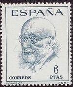 Spain 1966 Famous Spanish - Poets and Dramaturges c