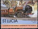 St Lucia 1983 Leaders of the World - LOCO 100 j