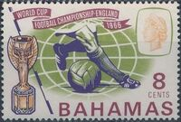 Bahamas 1966 World Cup Soccer a