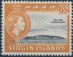 British Virgin Islands 1964 Queen Elizabeth II and Views f