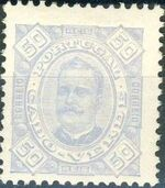 Cape Verde 1893-1895 Carlos I of Portugal g