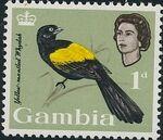 Gambia 1963 Birds b