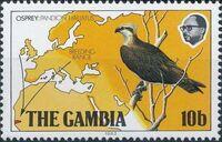 Gambia 1983 Osprey Breeding Range a