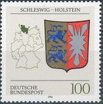 Germany, Federal Republic 1994 Coat of Arms of the Federal States of Germany (3rd Group) d