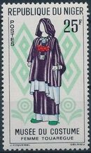 Niger 1963 Woman's Costumes c