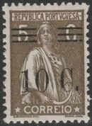 Portugal 1928 Ceres Surcharged f