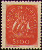 Portugal 1943 Portuguese Caravel (2nd Issue) h