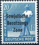 Russian Zone 1948 Overprint - Sowjetische Besatzungs Zone h