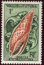 Wallis and Futuna 1962 Sea Shells b