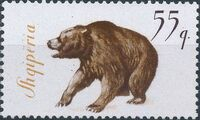 Albania 1965 Brown Bear g