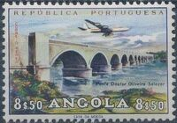 Angola 1965 Various Works and Airplane i