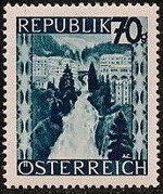 Austria 1946 Landscapes (II) m