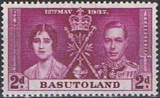 Basutoland 1937 George VI Coronation b