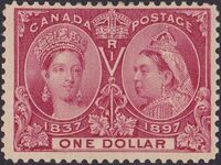 Canada 1897 60th Year of Queen Victoria's Reign l