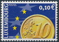 Luxembourg 2001 Euro-Coins b