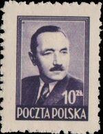 Poland 1949 President Boleslaw Bierut (2nd Group) c