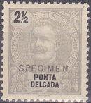 Ponta Delgada 1897 D. Carlos I SPa