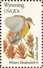 United States of America 1982 State birds and flowers zv