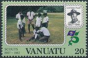 Vanuatu 1982 75th Anniversary of Boy Scout Movement b