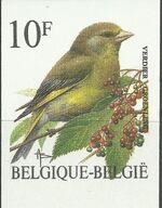 Belgium 1992 Birds (B) f