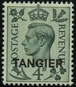 "British Offices in Tangier 1949 King George VI Overprinted ""TANGIER"" d"