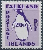 Falkland Islands 1991 Penguins (Postage Due Stamps) g