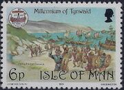 Isle of Man 1979 1000th Anniversary of the Tynwald Parlament c