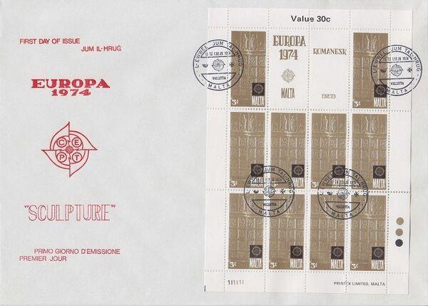 Malta 1974 Europa wh